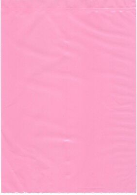 Lot 25 6 X 8 Anti Static Pink Poly Bags Low Shipping Hard Drives Memory Parts