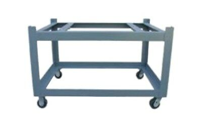 48x96 Surface Plate Castered Stand