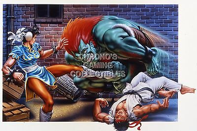 Street Fighter II The World Warrior Poster Glossy NVG999 RGC Huge Poster