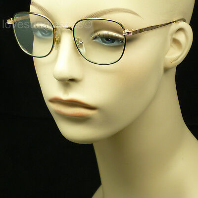 Clear lens glasses small medium men women retro vintage hipster frame style