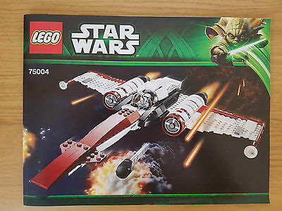 LEGO STAR WARS - 75004 Z-95 Headhunter - INSTRUCTION MANUAL ONLY