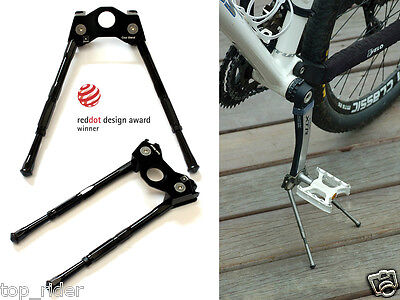 reddot Super Lightweight Bike Flashstand Fold Stand Cool Stand 75g Black