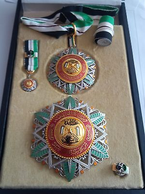 1917 Jordan the Supreme Order of the Renaissance Complete Set Medal Badge Wissam