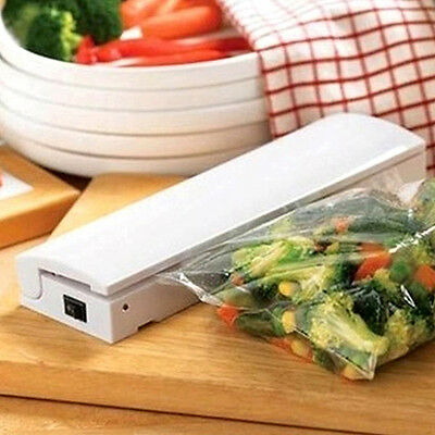 Mini Heat Sealing Machine Precious Impulse Sealer Seal Packing Plastic Bag Kit