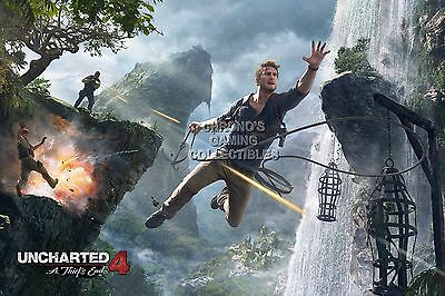UCH035 Uncharted 4 Thief/'s End Nathan PS4 PS3 XBOX ONE 360 RGC Huge Poster