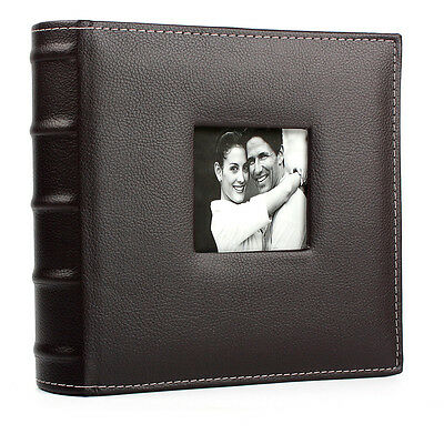 """Large Vintage 6x4"""" 200 Photos Slip in Photo Album With Memo Area Travel Holiday"""