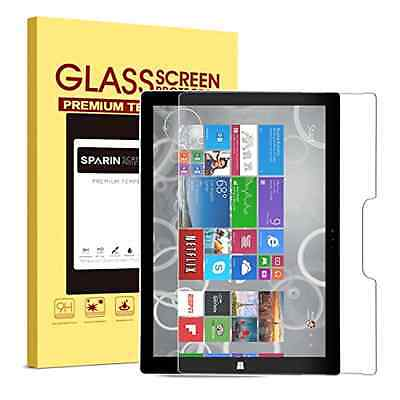 ** Surface Pro 4 Screen Protector Tempered Glass, SPARIN Ultra Clear .