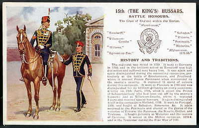 15th (THE KING'S) HUSSARS. History&Traditions. G&Polden. E.IBBETSON art 1910