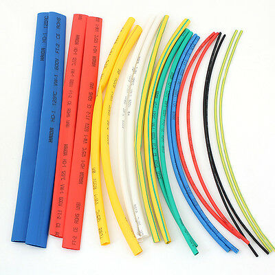 20/80Pcs Heat Shrink Tube Car Assorted Electrical Cable Wire Wrap Tubing Sleeves