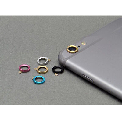 Smart phone camera metal lens protector for hole Protective ring For iPhone6