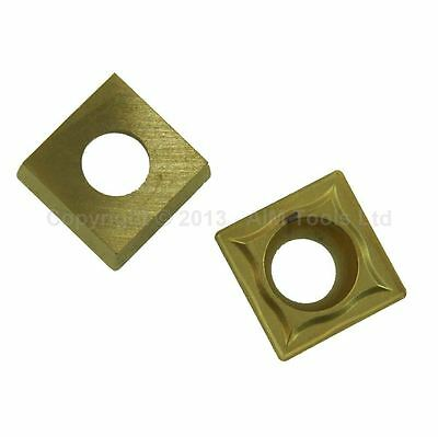 111322A SCMT09T304 2Pcs Indexable Inserts For CNC Lathe Cutting Milling Tools