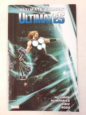 THE ULTIMATES Vol 2 TPB ~ Hickman Ribic ~ Collects ULTIMATES # 7-12 THOR Hulk