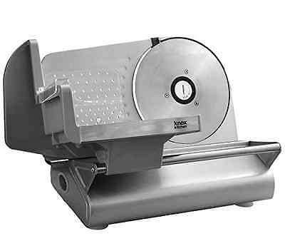 """Knox Stainless Steel Meat Slicer with 7.5"""" Smooth Blade Tool Kitchen Equipment"""