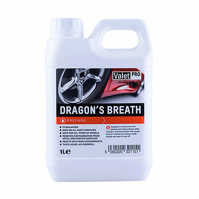 Valet Pro Dragons Breath - 1 Litre, Fallout, Wheel Cleaner, Valeting, Detailing