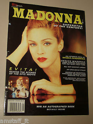 Madonna Cover Magazine=100 Pages=Biograph Superstar Of The Century=1996=