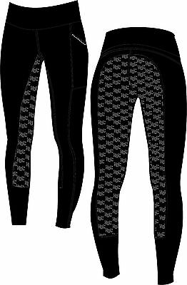 "**heels Down Clothing** ""super Stick"" Equestrian Performance Tights 1/2 Price"