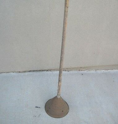 "Vintage Large Antique Laundry ""Rapid Plunger"" RARE Estate Find"