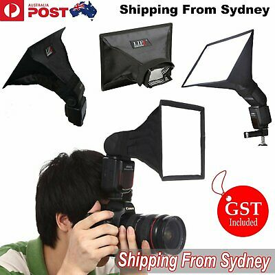 16x 22cm Universal Mini Portable Softbox Diffuser for Flash Speedlite Speedlight