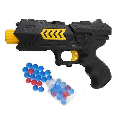 Children 2-in-1 Shooting Soft Bullet Water Crystal Paintball Gun Pistol Game Toy