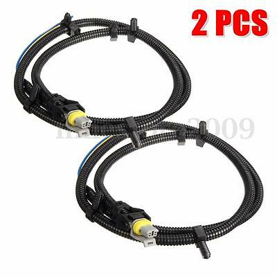 2x new multifit abs wheel speed sensor wire harness plug pigtail 2pcs abs wheel speed sensor wire harness plug for chevrolet buick gm 10340314