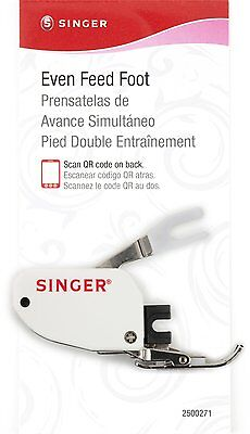 Singer Even Feed Walking Presser Foot for Quilting or Thick Fabric (2500271) CXX