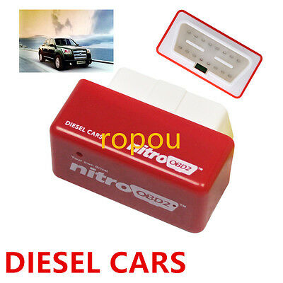 Economy Chip Tuning Box Interface Plug and Drive Nitro OBD2 for Diesel Vehicle