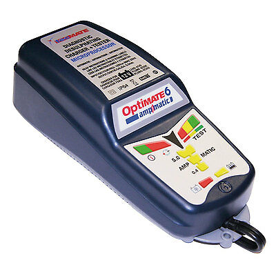 Optimate 6 12V 5A Ampmatic High Performance Motorcycle Auto Boat Battery Charger