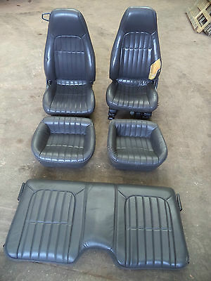 CHEVROLET CAMARO Z 28 30th ANNIVERSARY LIMITED LEATHER SEAT FULL SET Z28 P219YDS