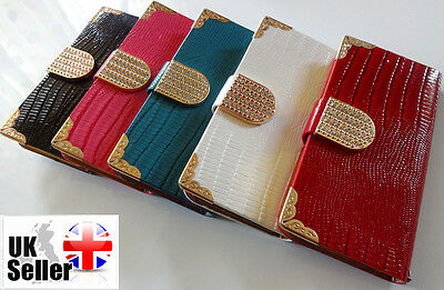 New Fashion Flip Wallet Genuine PU Leather Case Cover For Apple iPhone 5S 5C UK