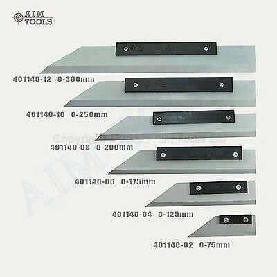 401140 Hardened Steel Straight Precision Bevel Edge, Milling Measuring Tools