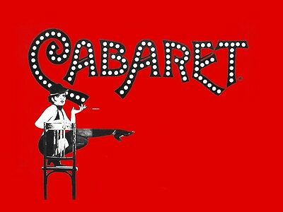 1-4 Tickets For Cabaret At The Hollywood Pantages Theater. 7/30/16