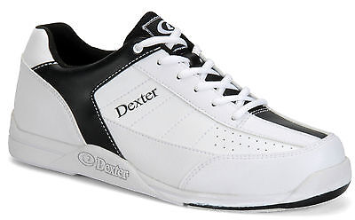 Dexter *NEW* Ricky III Jr Youth Bowling Shoes White/Black