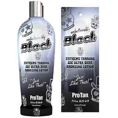 Pro Tan Pro Tan Unbelievably Black Sunbed Tanning Cream Lotion Bottles & Sachets