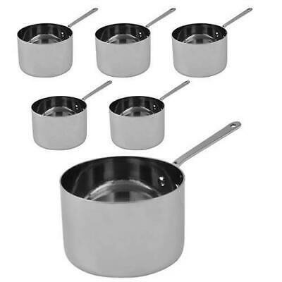 6x Serving Dish, Saucepan Style, Sides & Meals, Stainless Steel MODA Soho 90mm