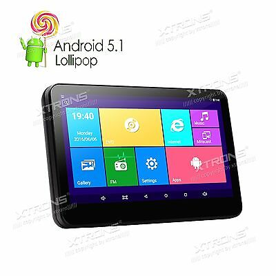 "Active 10.1"" Touch Android 5.1 Pillow Headrest Monitor Car DVD Player HDMI Game"