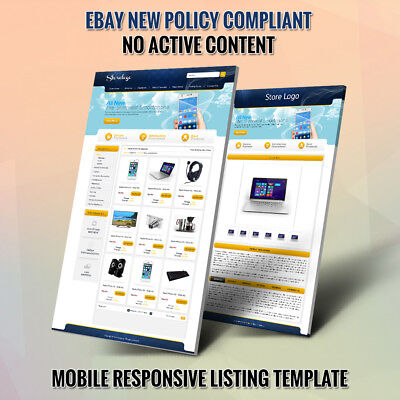 Professional eBay Store Templates & Listing Auction HTML Template- FREE SETUP