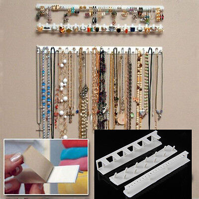 Jewelry Earring Organizer Hanging Holder Necklace Display Stand Rack Holder New