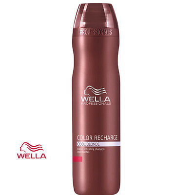 Wella Professionals Shampoo Color Recharge Cool Blonde 250ml Colour Refreshing