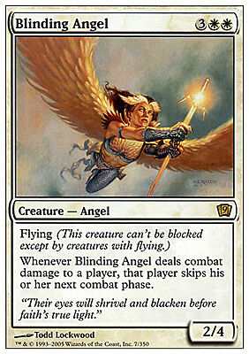 Angelo Accecante - Blinding Angel MTG MAGIC 9E 9th Edition Eng/Ita