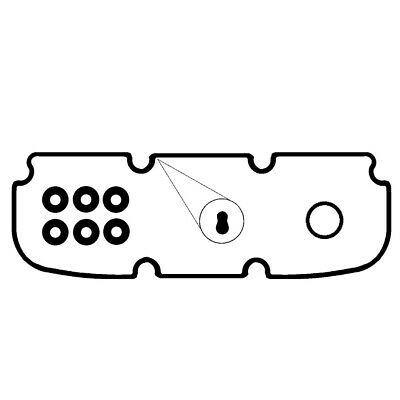 RUBBER ROCKER COVER GASKET KITS SUIT HOLDEN COMMODORE VR VS VT VX VY - V6 x2