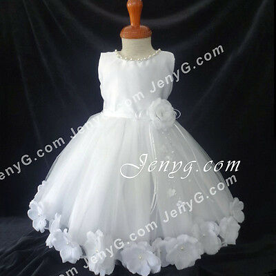 #MFW7 Baby Girl Christening Baptism First Holy Communion Church Party Gown Dress