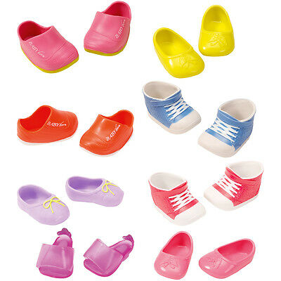 Baby Born Sporty Shoes 2 PAIRS Choice of Colours One Supplied NEW