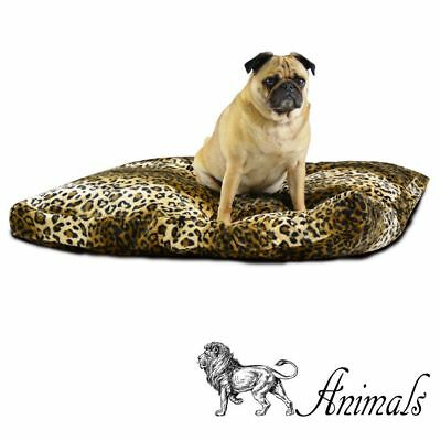 ANIMALS PREDATORY - CUSHION. Dog Bed Cat Den Fury Print Washable Pillow Trendy