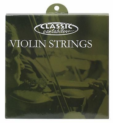 4x VIOLIN STRINGS SET 3/4 VIOLINS PROFESSIONAL STRING INSTRUMENTS ROUND WOUND