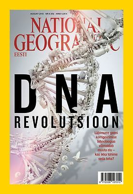 National Geographic August 2016 The DNA Revolution Gene Editing - NEW