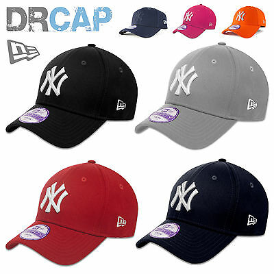 Kids New Era 9Forty New York Ny Yankees Adjustable Baseball Caps Youth Age 6-10