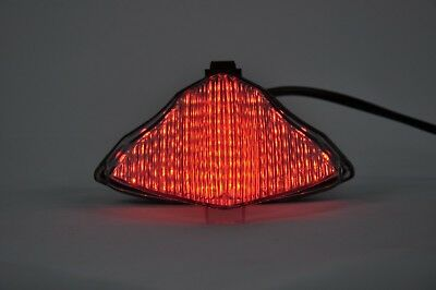 Led Tail light Clear Integrated Turn Signals for  YAMAHA 2009-2015 R1