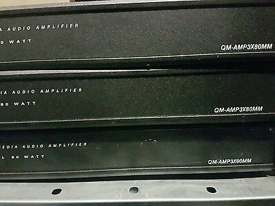 1 Piece Of Crestron Qm-Amp3X80Mm