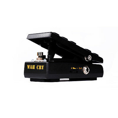 Donner Wah Cry 2 in 1 Mini Guitar Wah Effect/Volume Pedal True Bypass US Stock