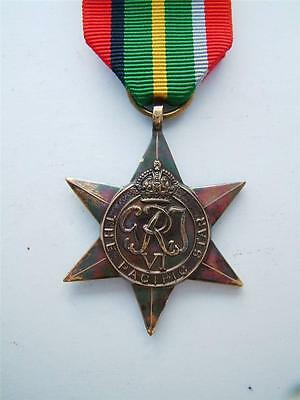 Ww2 British & Commonwealth Forces Pacific Star Merchant & Royal Navy